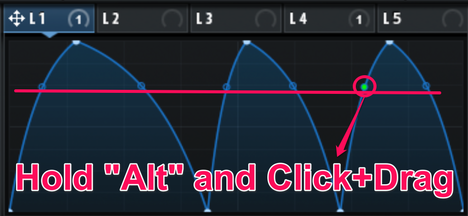 #6 change lfo curves at once image