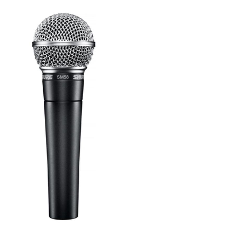 Cymatics-shure-best microphone