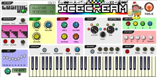 chiptune vst-ice cream-cymatics