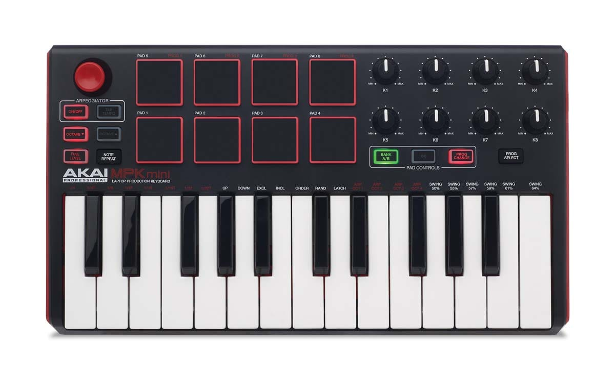 10 best midi keyboard controllers of 2018. Black Bedroom Furniture Sets. Home Design Ideas