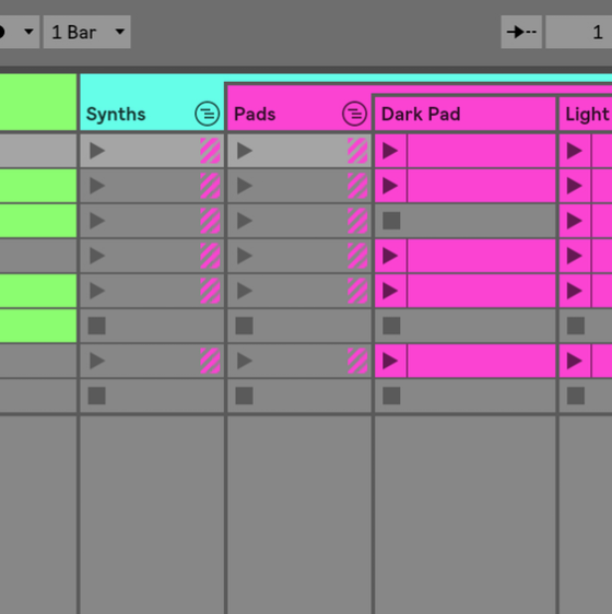 ableton live 10 groups