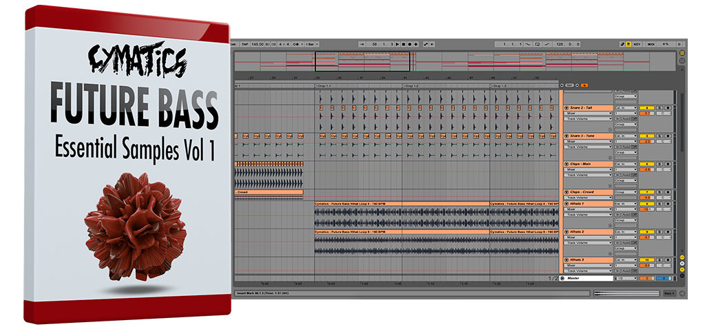 cymatics - future bass drums vol.1 (wav)