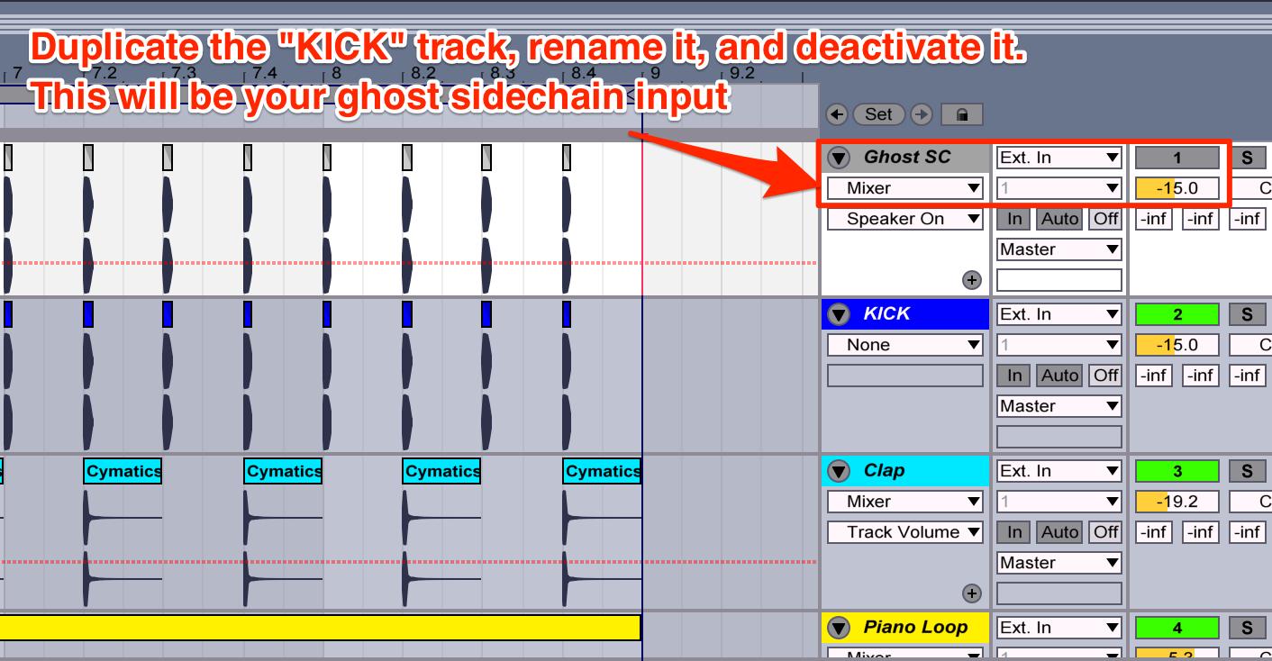 cymatics-how to make house music-sidechain 02
