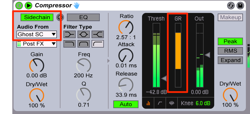 cymatics-how to make house music-compressor