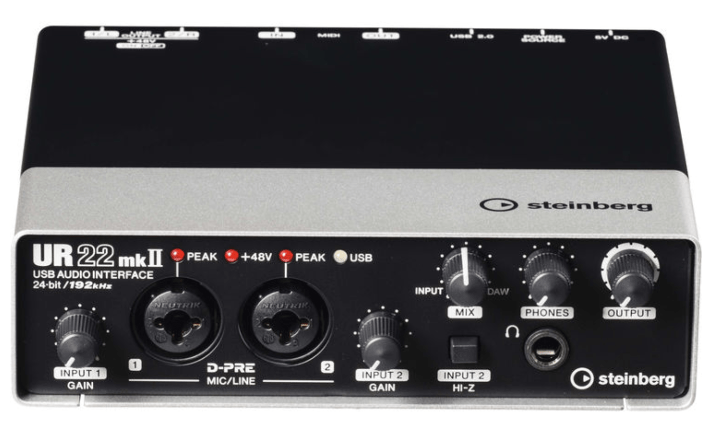 cymatics-best audio interface-steinberg
