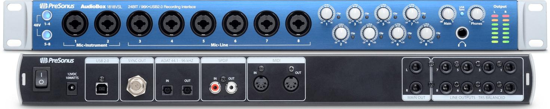 cymatics-best audio interface-audiobox1818