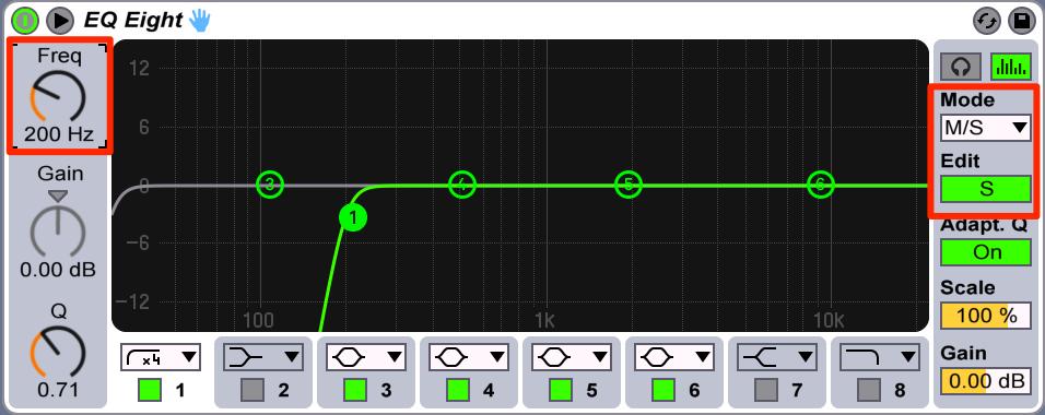 cymatics-how to make house music-EQ8