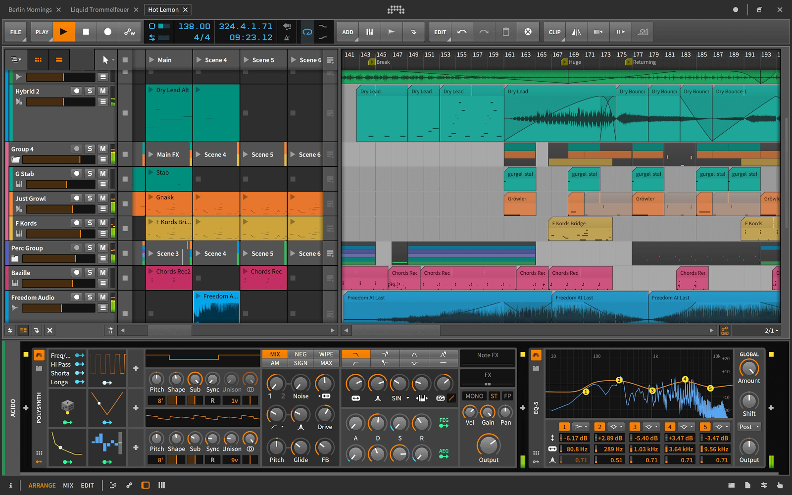 cymatics-music production software-bitwig