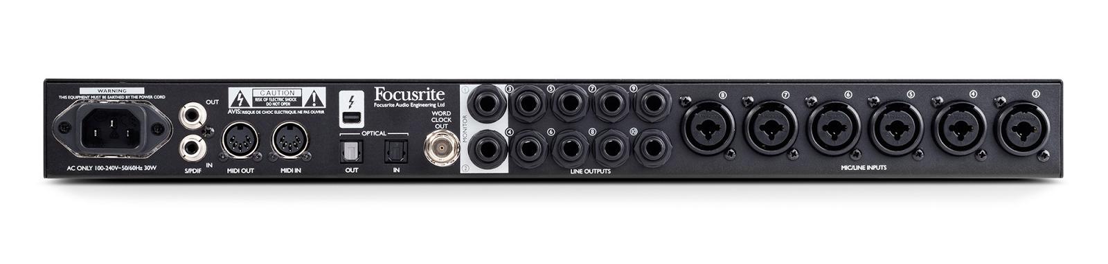 cymatics-best audio interface-focusrite