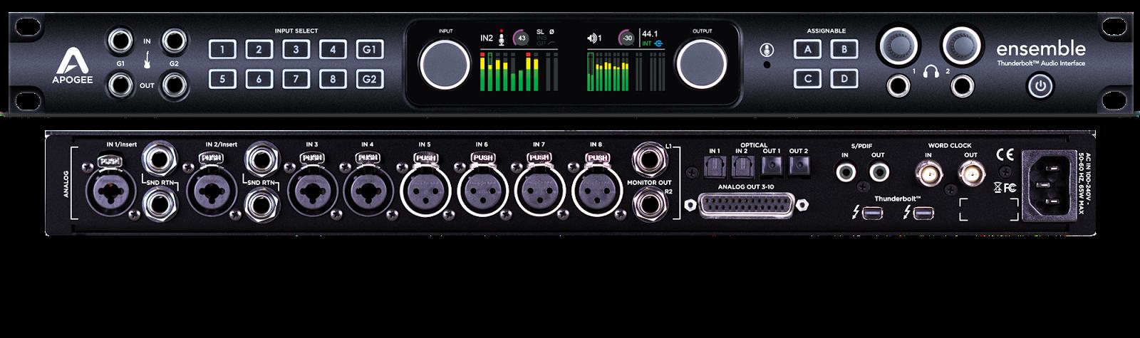 cymatics-best audio interface-apogee