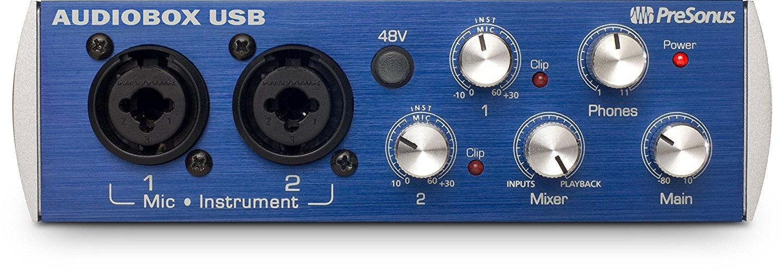 cymatics-best audio interface-pre sonus usb