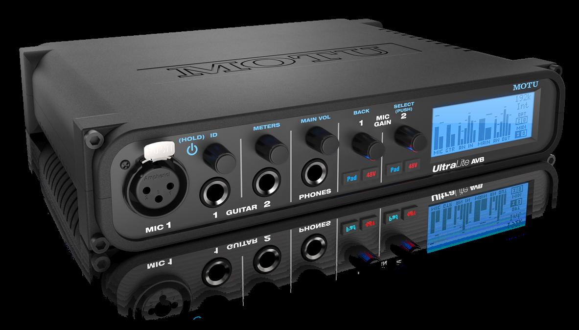 cymatics-best audio interface-motu