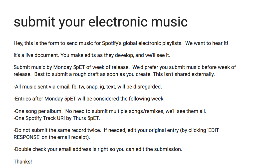 13 Different Places To Submit Your Music! – Cymatics fm