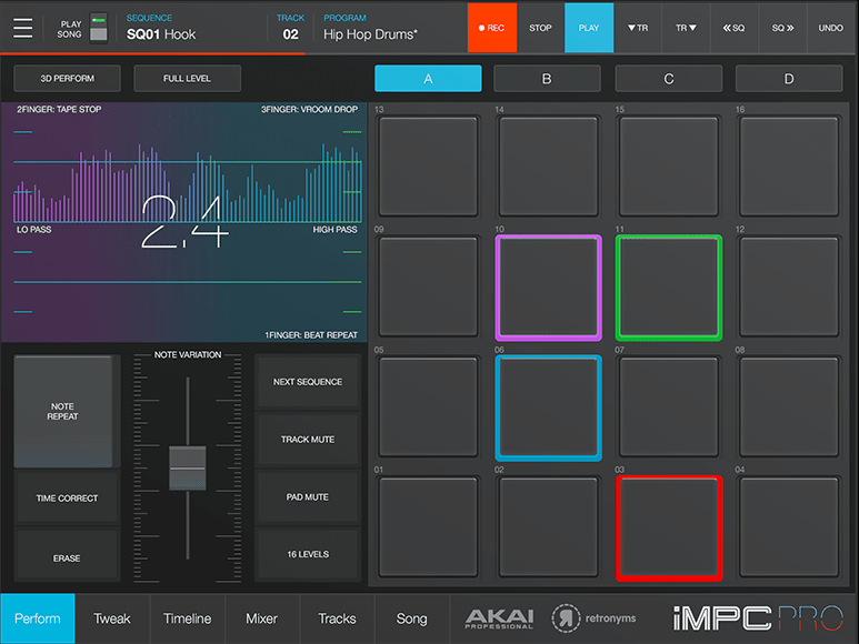 cymatics-synth app-akai
